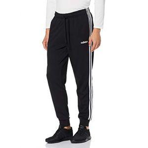 Adidas Essentials 3-Streifen Tapered Cuffed Hose - Pantalon de jogging taille XL, noir