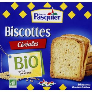 Pasquier Biscotte céréales bio