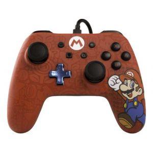 BD et A Manette Filaire Nintendo Switch Core Iconic Mario