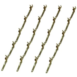 Aerzetix 20X pins broches mâles pour connecteur faisceau ISO QUADBLOCK fiche