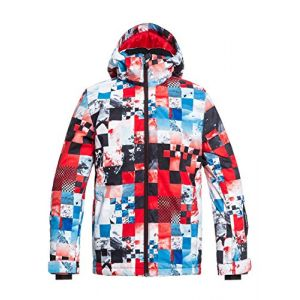 Quiksilver Veste de ski mission printed youth jacket 10 ans
