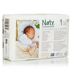 Naty Couche Naty taille 1 (2-5 kg) - paquet de 26