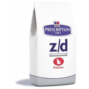 Hill's Feline z/d Allergy & Skin Care - Sac 2 kg