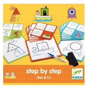 Djeco Step by step Geo and co