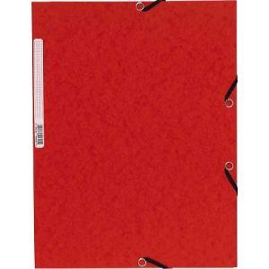 Exacompta Chemise carte lustrée à 3 rabats 355 g/m²