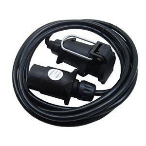 AB Tools Maypole Feu de remorque 3m Rallonge/Câble pour l'éclairage d'affichage, caravanes sur le fil TR119