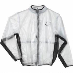 Fox MX Fluid Jacket Men Transparent 2013 S Équipement Veste vélo Imperméable S