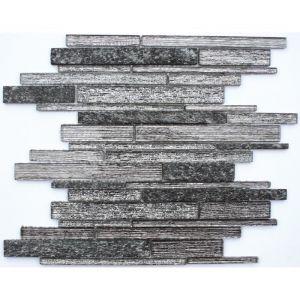 Mosaïque Brique 30 x 30 cm Noir