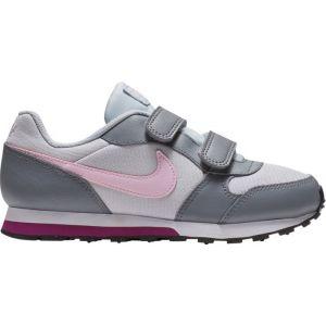 Nike Chaussure MD Runner 2 pour Jeune enfant - Argent - Taille 27.5 - Unisex