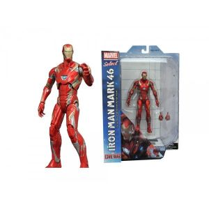 Diamond Select Toys Figurine Marvel Civil War Iron Man Mk46 Marvel Select (18 cm)