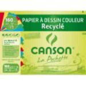Canson 777-101 - 8 Feuilles de papier dessin 160 g (A4+)