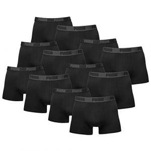 Puma Vêtements intérieurs -underwear Basic Boxer 2 Pack - Black / Black - XL