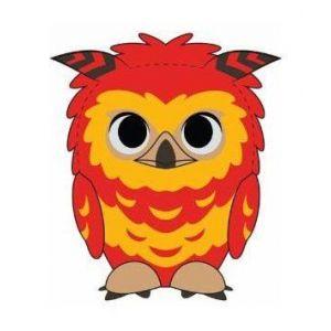 Funko Harry Potter Peluche Super Cute Fawkes 18 Cm