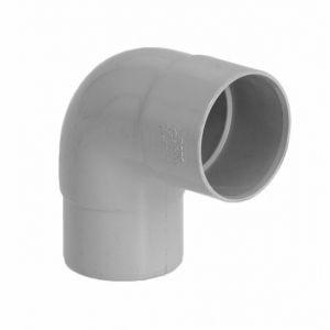 GIRPI Coude 87°30 MF PVC gris (16 - 50 - < 30 m²) - Développé : 16 - Ø mm : 50 - Toiture : < 30 mA² -