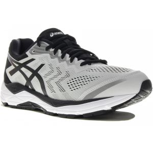Asics Chaussures running Gel Fortitude 8 Wide - Glacier Grey / Black - Taille EU 42