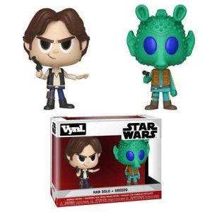 Funko Figurines Vynl. Han Solo et Greedo Star Wars
