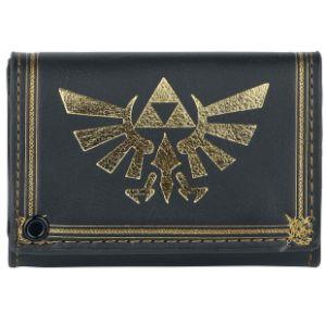 Bioworld Portefeuille Zelda Triforce avec chaîne