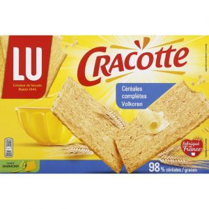 Lu Cracotte - Céréales complètes, riches en fibres - La boîte de 250g
