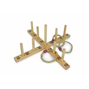 Toys Pure SA 059 - Jeu de lacer d'anneaux en sisal
