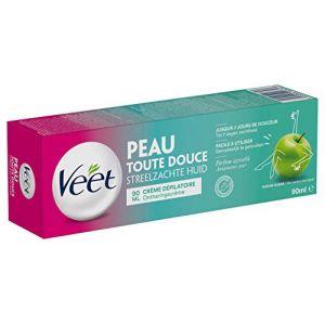 Veet Crème Dépilatoire Parfum Pomme  - 90ml