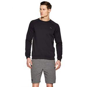 Under Armour Rival fleece crew 1320738 001 homme sweat shirts noir xl