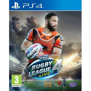 Rugby League Live 4 sur PS4