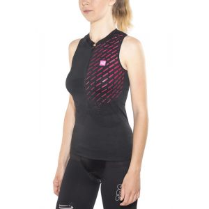 Compressport Trail Running Postural Ultra - Débardeur running Femme - noir M T-shirts course à pied