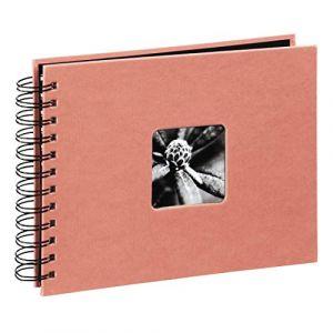 Hama Fine Art à spirales Coral 28x24 50 pages noires 2643