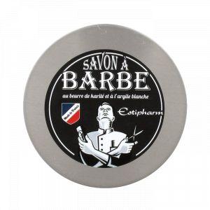 Estipharm Savon à barbe au beurre de karité et à l'argile blanche