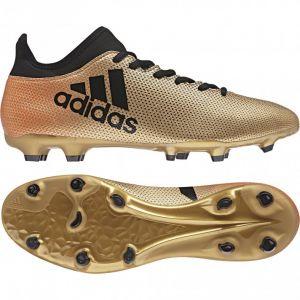 Adidas X 17.3 FG, Chaussures de Football Homme, Multicolore (Tagomecblacksolred), 44 EU
