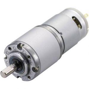 Tru Components Motoréducteur courant continu IG320100-F1C21R 1601526 12 V 530 mA 0.4511058 Nm 53 tr/min Ø de l'arbre: 6