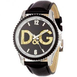 Dolce & Gabbana DW0702 - Montre pour homme avec bracelet en cuir