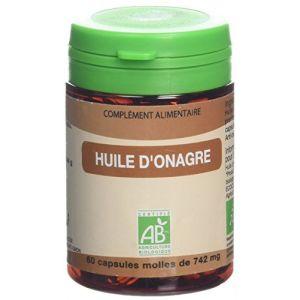Graine sauvage Huile d'Onagre Bio Pilulier de 60 Gélules