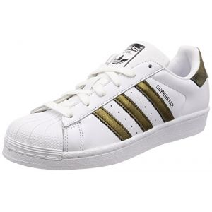 Adidas Superstar W, Noir (FTWR White/Core Black/Core Black), 39 1/3 EU