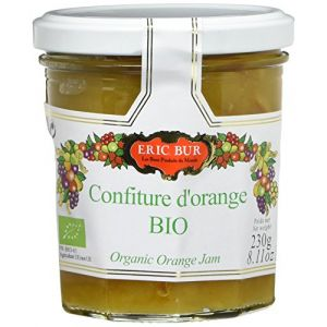 Eric Bur Confiture d'Oranges Bio 230 g - Lot de 3
