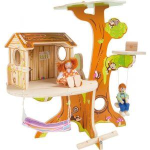 Legler 7807 - Cabane dans l'arbre avec figurine