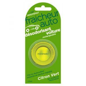 Think Désodorisant voiture rechargeable Fraîcheur Auto Citron vert