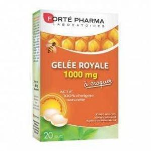 Forté pharma Gelée Royale 1000 mg à croquer 20 comprimés