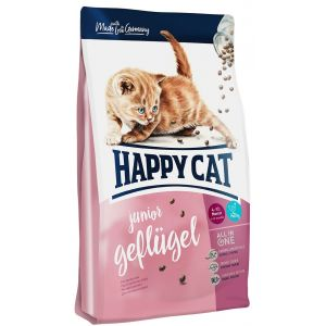 Happy cat 10kg Junior volaille Supreme - Croquettes pour Chat