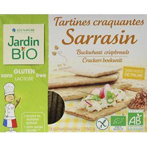 Jardin Bio Tartines au sarrasin sans gluten bio - Le paquet de 150g
