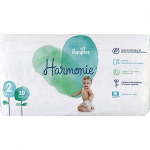Pampers Harmonie - Couches Taille 2 géant