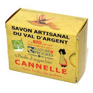 Argasol Savon bio Cannelle 140g