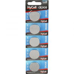 HyCell Pile bouton CR 2430 lithium 300 mAh 3 V 5 pc(s)