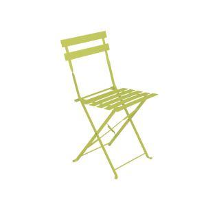 Hesperide Camargue - Chaise de jardin pliante en métal