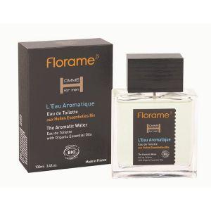 Florame L'Eau Aromatique - Eau de toilette pour homme Bio