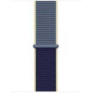 Apple Bracelet 40mm Boucle Sport bleu d'Alaska