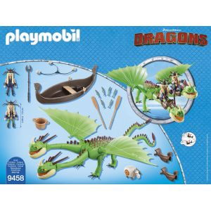 Playmobil 9458 Dragons - Kognedur et Kranedur Pète Prout