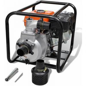 VidaXL Pompe à Eau Moteur Essence 80 mm Connection 6,5 HP