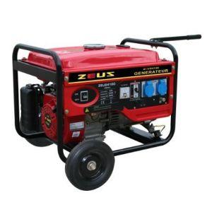 Zeus 4100N - Groupe électrogène essence 3300W avec kit chariot