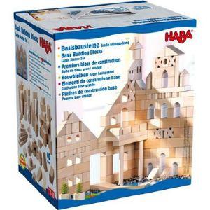 Haba Premiers blocs de construction : grand modèle boite de base